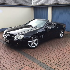 2002 Mercedes SL500 convertible For Sale