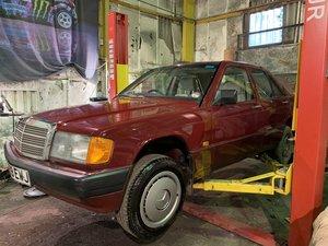 1989 Mercedes 190d 2.5td,gen 50k miles,unpainted, For Sale