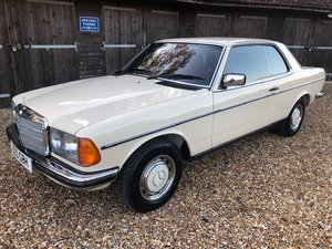 1986 Mercedes 230 CE ( 123-series ) For Sale