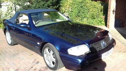 1998 Mercedes-Benz SL320 For Sale by Auction