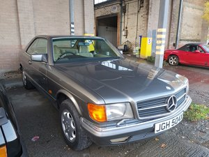 1982 Mercedes Benz 500 SEC For Sale