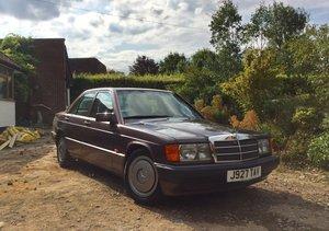 1992 Mercedes 190e For Sale