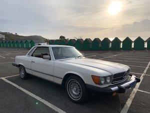 1981 Mercedes 380SLC - documented 66k miles 1 owner For Sale