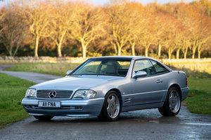 2000 Mercedes SL500 (R129) - UK RHD 83,000 miles SOLD