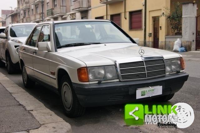 MERCEDES 190 E DEL 1984 CON GANCIO TRAINO POSSIBILITA' DI G For Sale (picture 1 of 6)