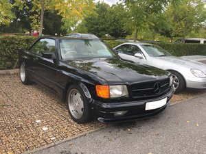 Mercedes 500SEC AMG Widebody - W126 RHD
