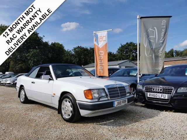1993 Mercedes 320ce 3.2 auto sportline convertible For Sale (picture 1 of 6)