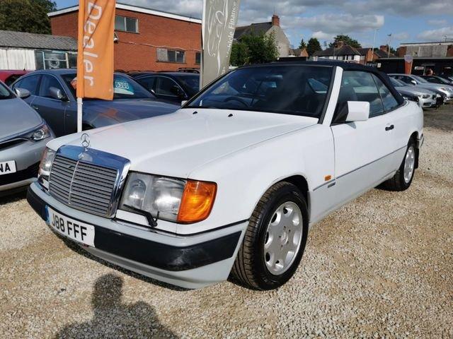 1993 Mercedes 320ce 3.2 auto sportline convertible For Sale (picture 2 of 6)