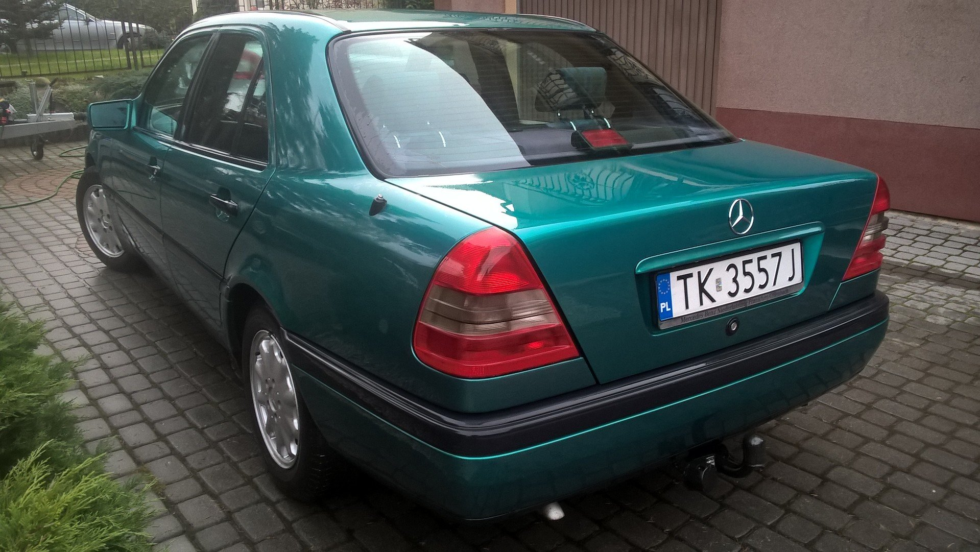 1996 Mercedes C 180 Automatic Genuine  For Sale (picture 2 of 6)