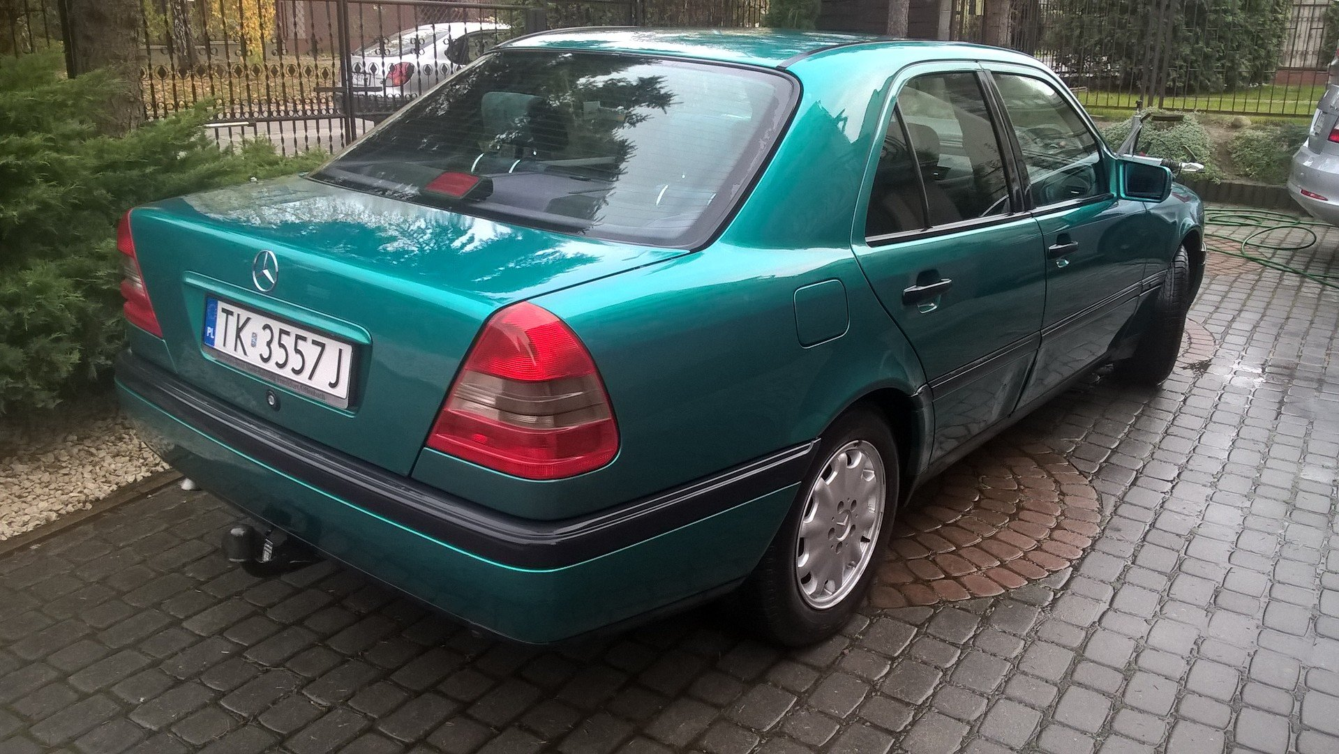 1996 Mercedes C 180 Automatic Genuine  For Sale (picture 3 of 6)