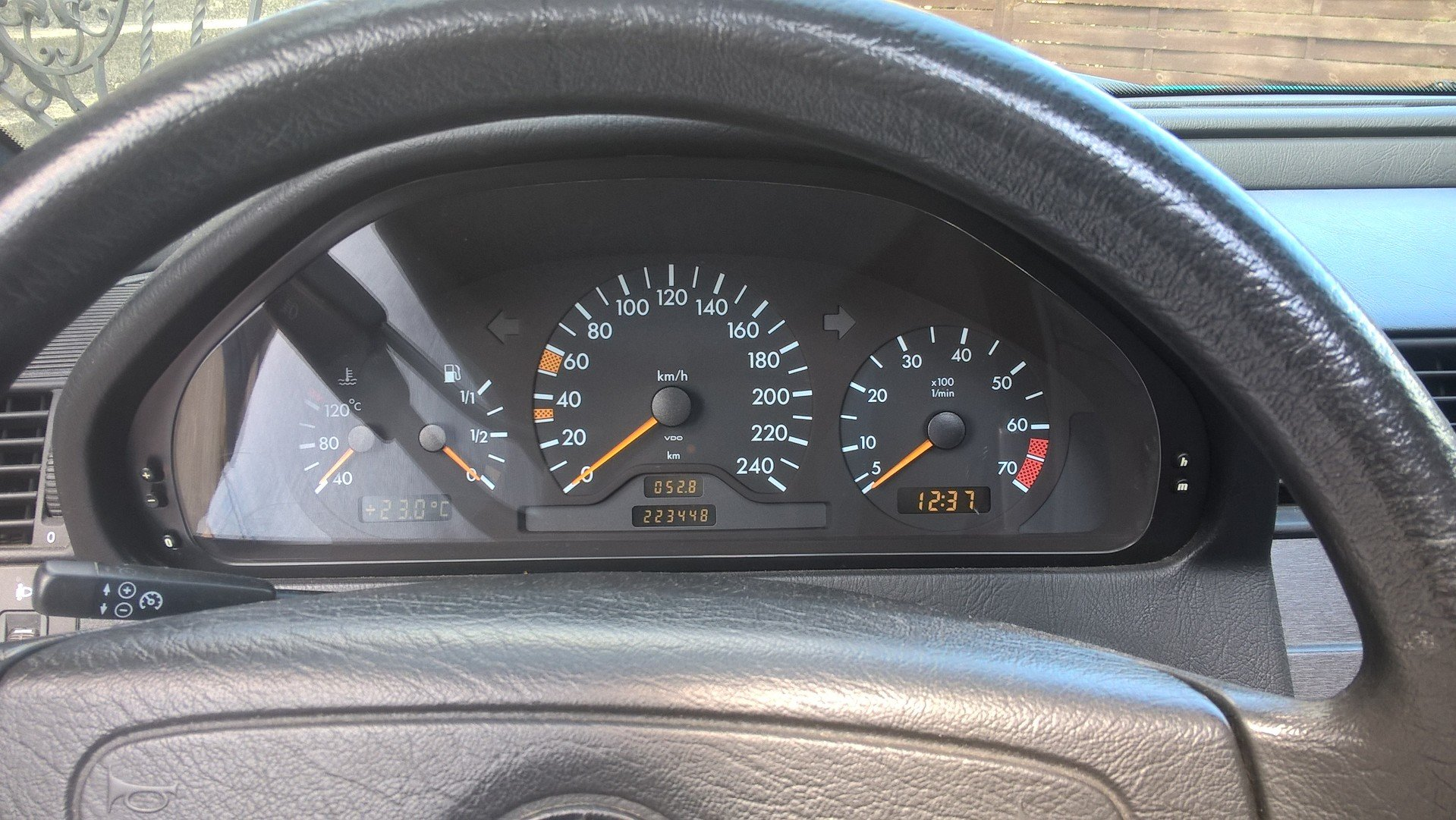 1996 Mercedes C 180 Automatic Genuine  For Sale (picture 4 of 6)