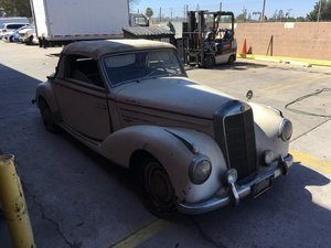 # 23090 This 1953 Mercedes-Benz 220A Cabriolet For Sale