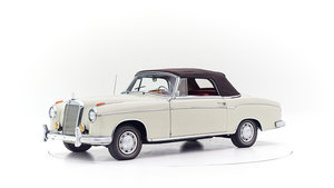 1958 MERCEDES PONTON 220 S CONVERTIBLE For Sale by Auction