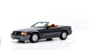 1992 MERCEDES 300 SL CONVERTIBLE For Sale by Auction