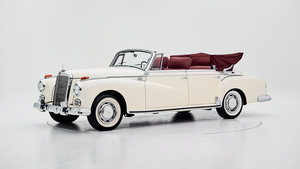 1958 MERCEDES 300D ADENAUER for sale by auction For Sale by Auction