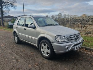 2002 Mercedes ML55 1 OWNER, FSH, SAT NAV, ENT SYSTEM For Sale