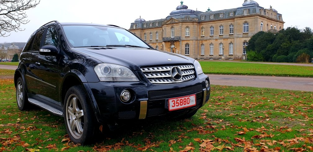 LHD 2008 MERCEDES ML280 CDI AMG SPORT, AUTO, LEFT HAND DRIVE For Sale (picture 1 of 6)