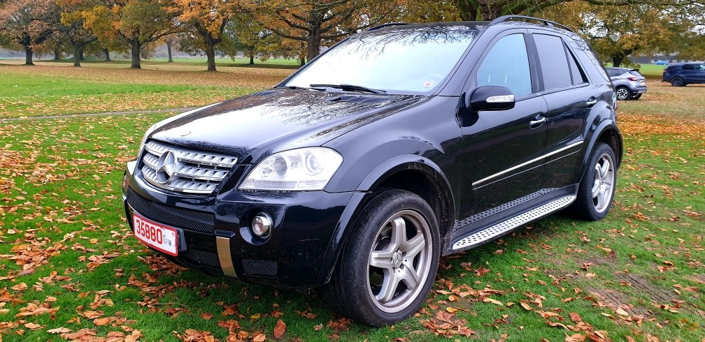 LHD 2008 MERCEDES ML280 CDI AMG SPORT, AUTO, LEFT HAND DRIVE For Sale (picture 2 of 6)
