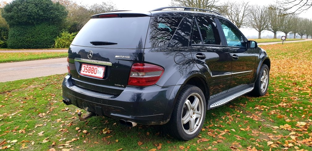 LHD 2008 MERCEDES ML280 CDI AMG SPORT, AUTO, LEFT HAND DRIVE For Sale (picture 3 of 6)