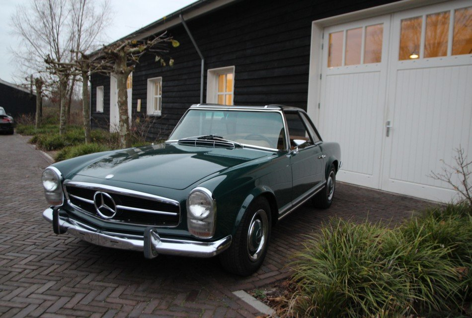 MERCEDES BENZ  250 SL PAGODE LHD 1968 AUTOMATIC !! For Sale (picture 2 of 6)