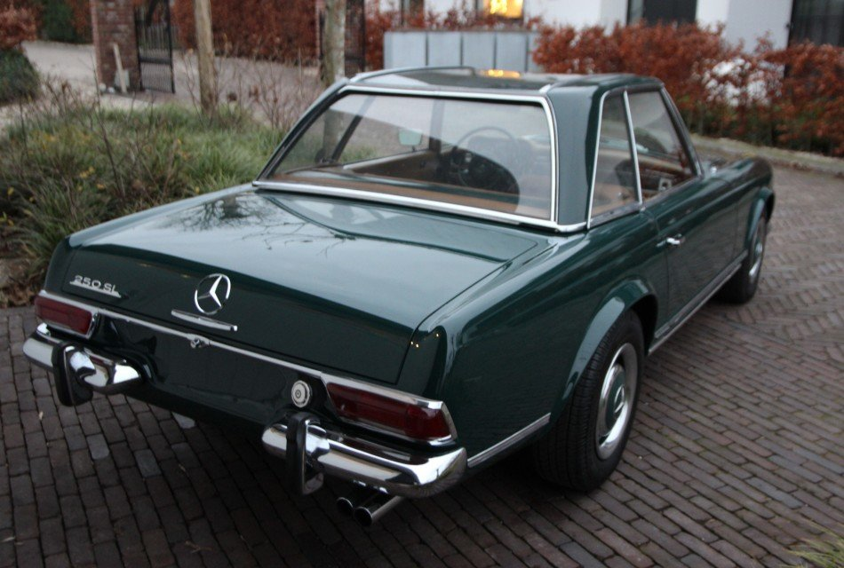 MERCEDES BENZ  250 SL PAGODE LHD 1968 AUTOMATIC !! For Sale (picture 4 of 6)