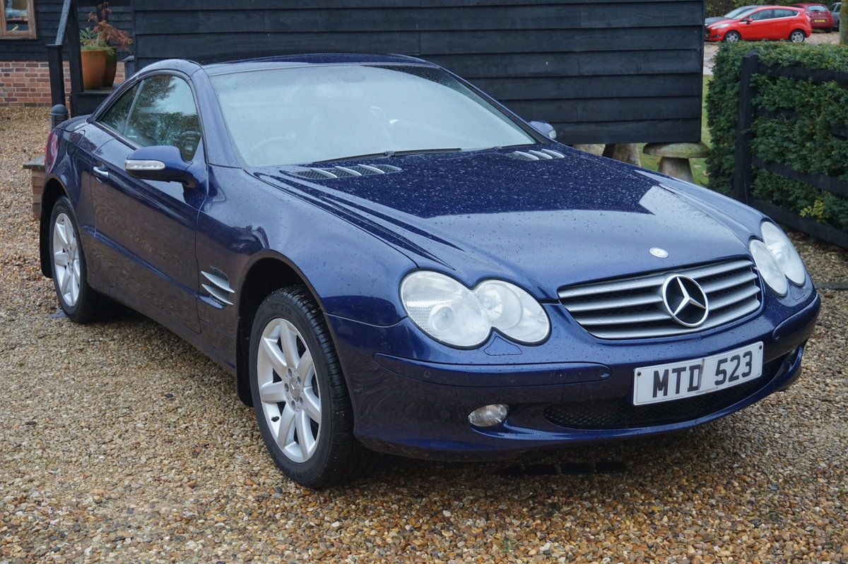 MERCEDES BENZ 2003 PAN ROOF/SAT-NAV/HEATED COOLING SEATS For Sale (picture 4 of 5)