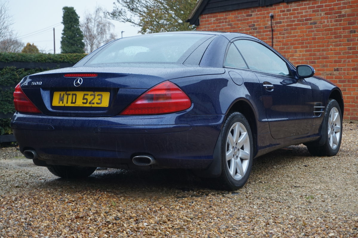 MERCEDES BENZ 2003 PAN ROOF/SAT-NAV/HEATED COOLING SEATS For Sale (picture 5 of 5)