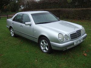 1999  Mercedes E240 Elegance Saloon.
