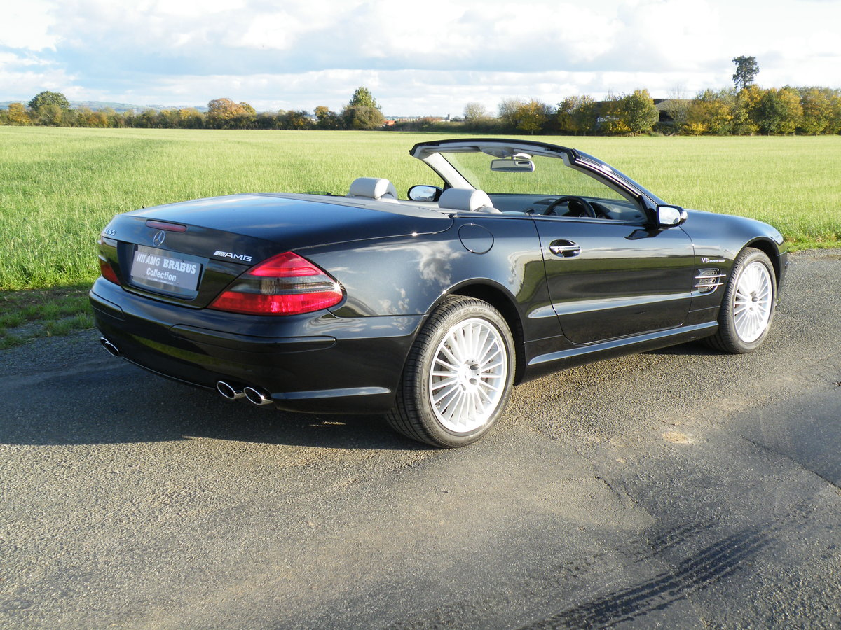 2005 Mercedes SL 55 AMG For Sale (picture 2 of 6)