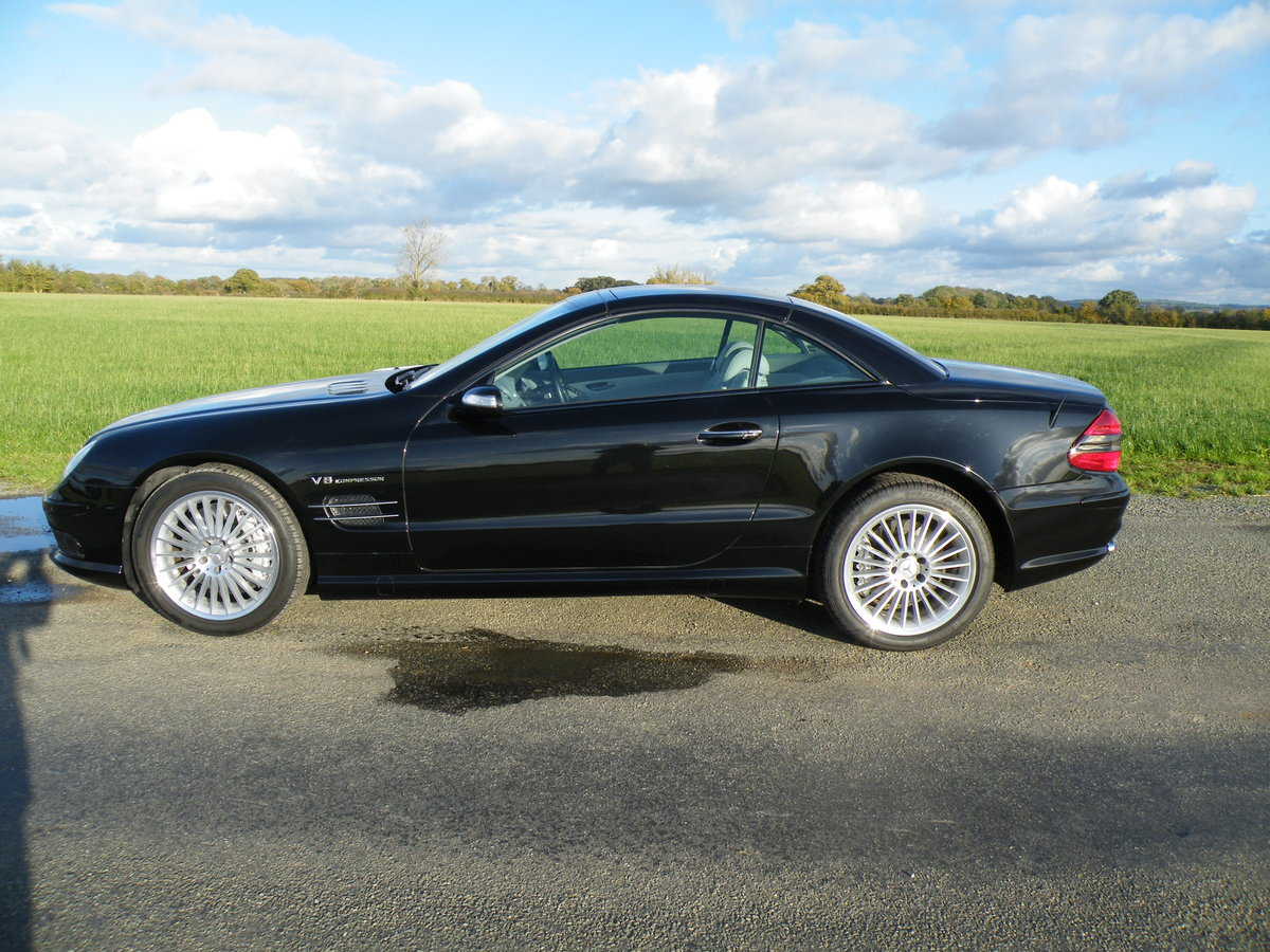 2005 Mercedes SL 55 AMG For Sale (picture 4 of 6)