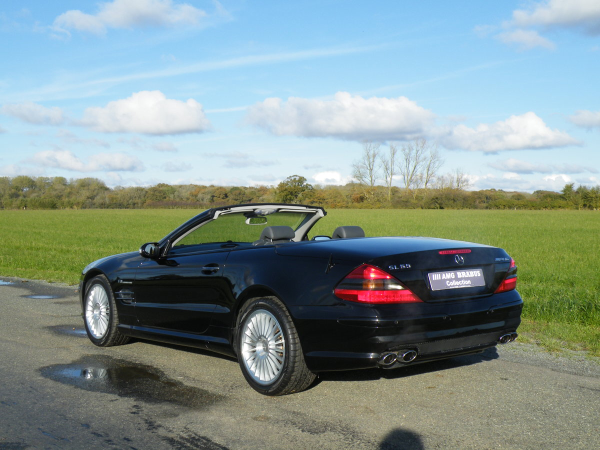 2003 Mercedes SL 55 AMG For Sale (picture 2 of 6)