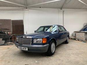 1988 Mercedes 300 SE Auto