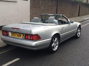 Mercedes sl320 r129 facelift v6