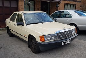 1988 Mercedes 190 solid shell lowered For Sale