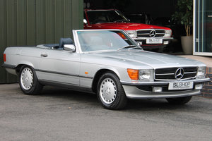 Picture of 1987 Mercedes-Benz 500SL V8 (R107) #2174 46k Miles Blue Leather For Sale
