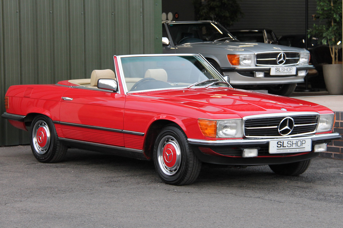 1981 Mercedes-Benz 280SL (R107) #2177 Lovely Early 107 in Red For Sale (picture 1 of 6)