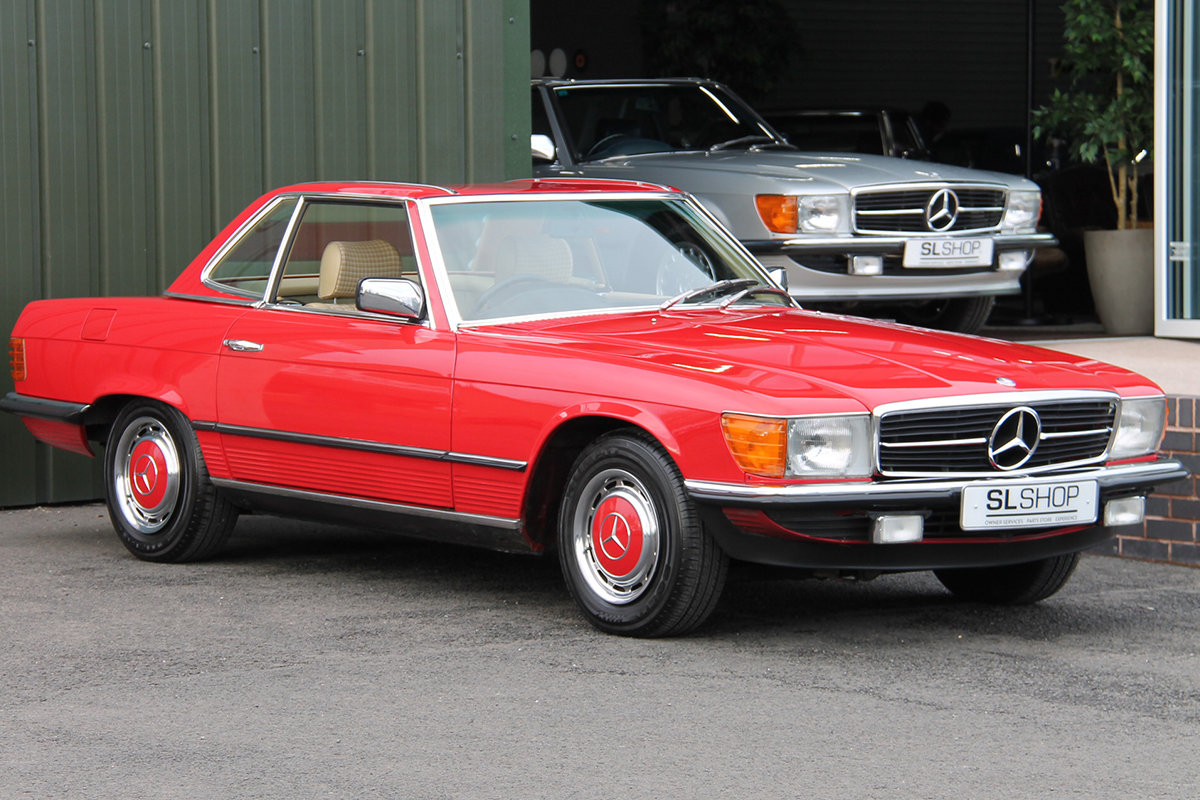1981 Mercedes-Benz 280SL (R107) #2177 Lovely Early 107 in Red For Sale (picture 2 of 6)