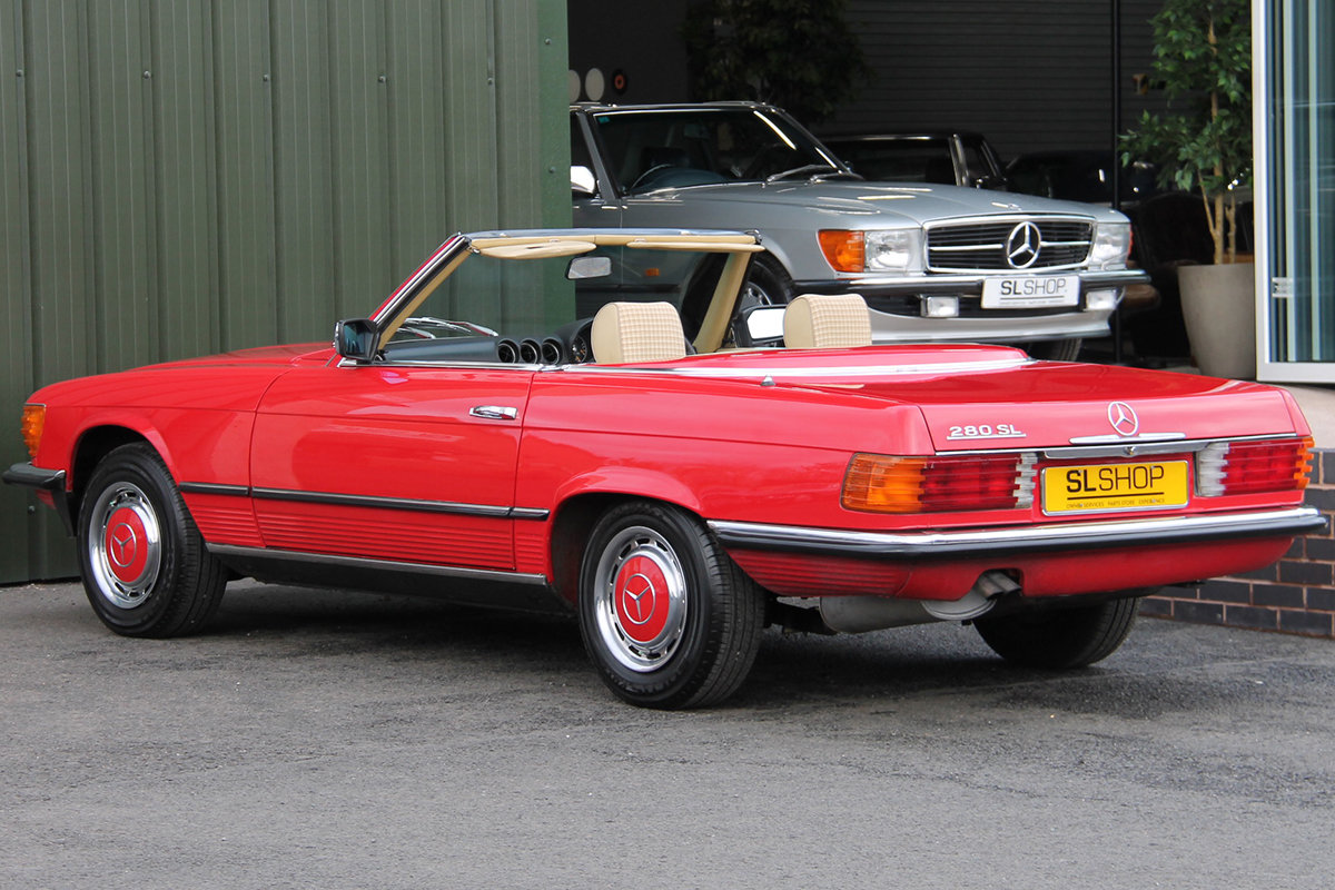 1981 Mercedes-Benz 280SL (R107) #2177 Lovely Early 107 in Red For Sale (picture 3 of 6)