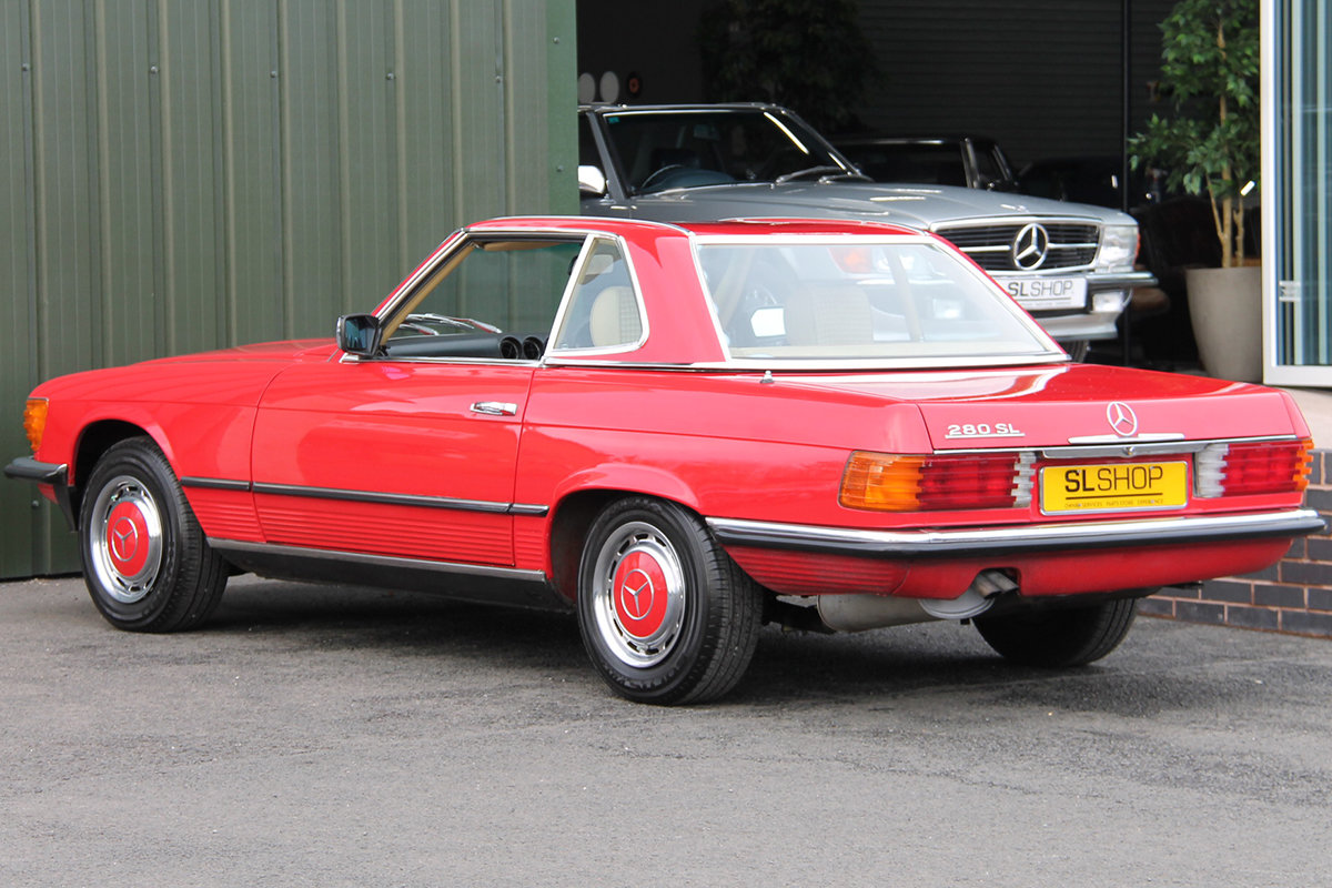 1981 Mercedes-Benz 280SL (R107) #2177 Lovely Early 107 in Red For Sale (picture 4 of 6)