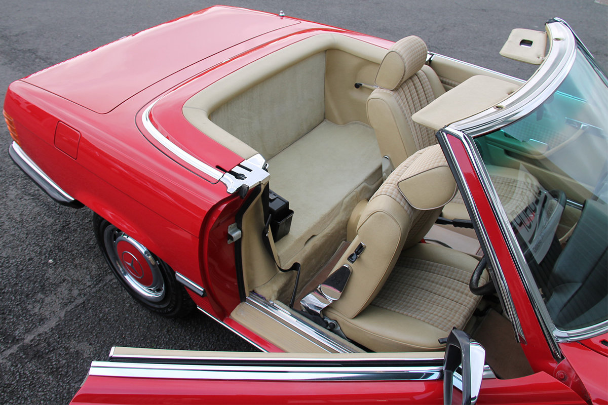 1981 Mercedes-Benz 280SL (R107) #2177 Lovely Early 107 in Red For Sale (picture 6 of 6)