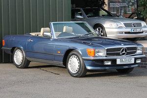 1989  Mercedes-Benz 300SL (R107) #2182 Nautic Blue 39k Miles For Sale