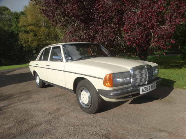 1983 MERCEDES BENZ 240 D For Sale (picture 1 of 6)