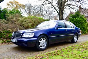 1997 Mercedes S320 W140 *84k, FSH, Stunning Condition* For Sale