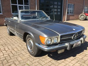 1972 Mercedes 450SL R107 roadster with hardtop For Sale