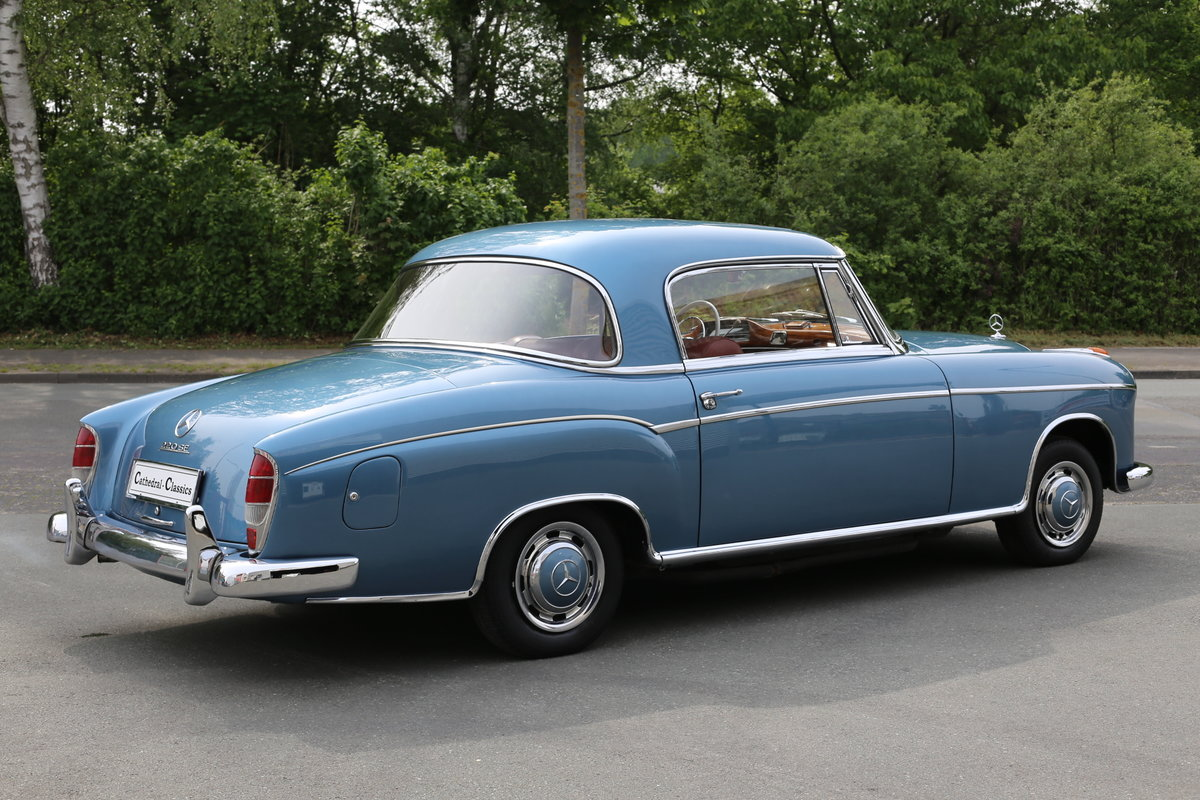 """1958  Mercedes 220 SE Coupe W128 """"Ponton"""" with rare sunroof SOLD (picture 6 of 6)"""
