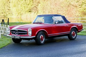1971 Mercedes 280SL original, low owner, full history.