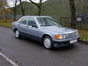 1990 MERCEDES BENZ 190 2.5d DIESEL AUTOMATIC RHD - EX JAPAN! For Sale