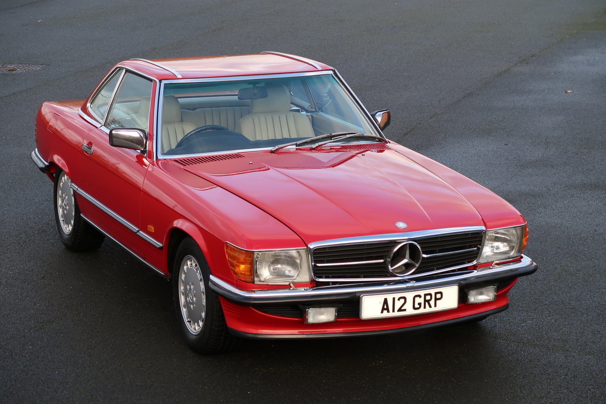 1988 MERCEDES 300SL R107 For Sale (picture 1 of 6)
