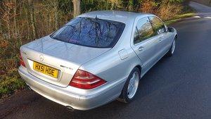 2001 Mercedes s class s600l limousine lwb v12 w220