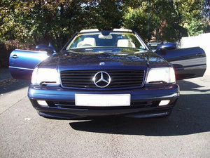 1998 Mercedes 320SL (R129) Automatic Convertible